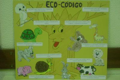 Eco-Poster da escola da Marinheira